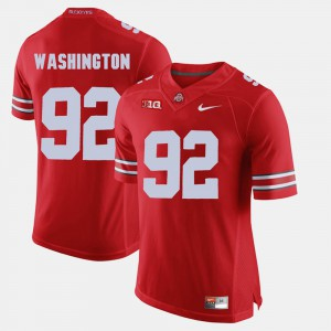 Adolphus Washington OSU Jersey Alumni Football Game Scarlet #92 Mens 912762-863