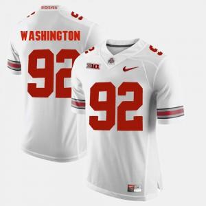 Adolphus Washington OSU Jersey #92 Alumni Football Game Men's White 581437-308