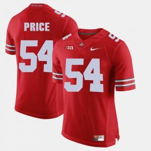 Billy Price OSU Jersey For Men's #54 Scarlet Alumni Football Game 941239-861