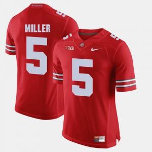 Braxton Miller OSU Jersey Scarlet Alumni Football Game Mens #5 889438-487