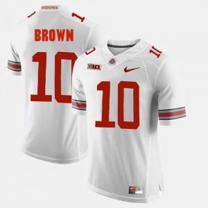 For Men CaCorey Brown OSU Jersey #10 Alumni Football Game White 246902-744