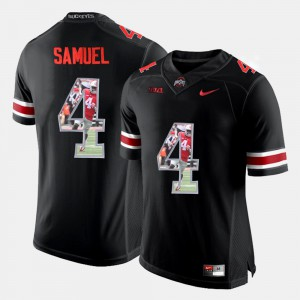 Pictorial Fashion Black Curtis Samuel OSU Jersey For Men's #4 950491-252