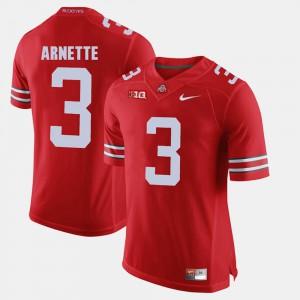 Scarlet Alumni Football Game For Men's Damon Arnette OSU Jersey #3 485762-242