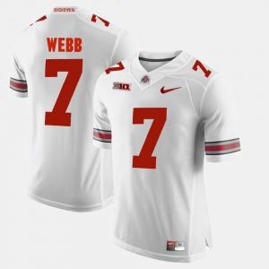 Mens Damon Webb OSU Jersey Alumni Football Game #7 White 859251-429