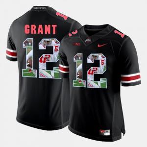 #12 Pictorial Fashion Black Doran Grant OSU Jersey Men 651561-928