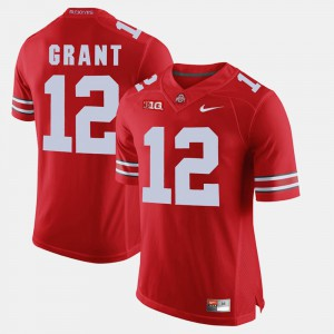 #12 Men Doran Grant OSU Jersey Alumni Football Game Scarlet 496121-279