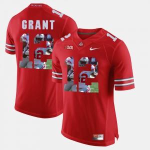 Doran Grant OSU Jersey Men's Pictorial Fashion Scarlet #12 308697-641