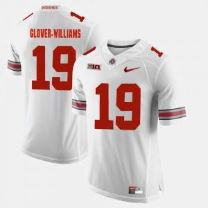 Mens Alumni Football Game Eric Glover-Williams OSU Jersey White #19 389247-281