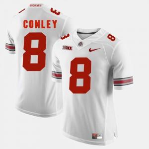 Gareon Conley OSU Jersey White For Men Alumni Football Game #8 375443-744
