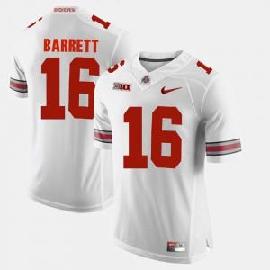 Men Alumni Football Game White J.T. Barrett OSU Jersey #16 484974-174