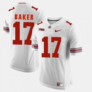 #17 White Mens Jerome Baker OSU Jersey Alumni Football Game 607423-314