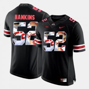 #52 Black Johnathan Hankins OSU Jersey Men's Pictorial Fashion 231206-867