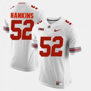 Alumni Football Game For Men White Johnathan Hankins OSU Jersey #52 471145-987