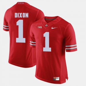 Alumni Football Game Johnnie Dixon OSU Jersey Scarlet Mens #1 282644-290