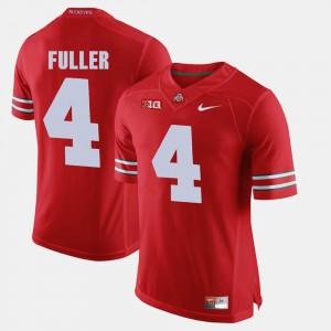 #4 For Men's Jordan Fuller OSU Jersey Alumni Football Game Scarlet 419430-792