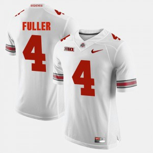 Alumni Football Game Jordan Fuller OSU Jersey Men White #4 314848-766