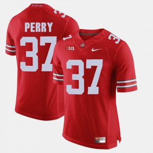 Scarlet Men Joshua Perry OSU Jersey Alumni Football Game #37 225410-719