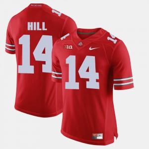 Alumni Football Game For Men K.J. Hill OSU Jersey Scarlet #14 866215-778