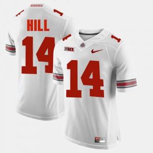 #14 White For Men's Alumni Football Game K.J. Hill OSU Jersey 463885-643