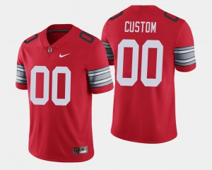 OSU Customized Jersey 2018 Spring Game Limited Scarlet #00 Mens 734258-212