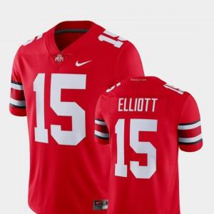 Ezekiel Elliott OSU Jersey #15 Alumni College Limited Football Scarlet Mens 199185-448