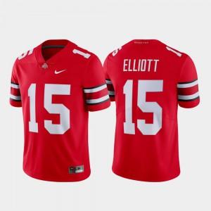 Scarlet Limited Mens #15 Name & Number Ezekiel Elliott OSU Jersey 782818-623