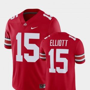 #15 Ezekiel Elliott OSU Jersey Men Player Alumni Football Game Scarlet 767161-627