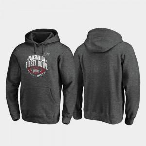 For Men's Heather Gray 2019 Fiesta Bowl Bound Scrimmage OSU Hoodie 613309-405