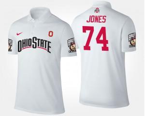 White #74 Jamarco Jones OSU Polo Men's 858557-827