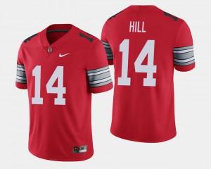 #14 Scarlet 2018 Spring Game Limited For Men's K.J. Hill OSU Jersey 190690-913
