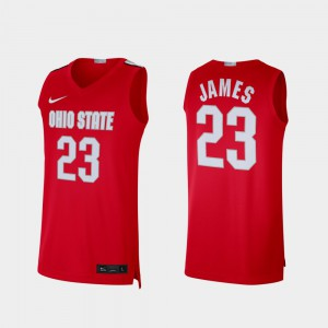 LeBron James OSU Jersey #23 Alumni Limited Scarlet Men 301114-685