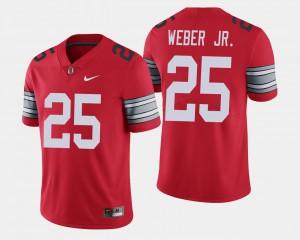 2018 Spring Game Limited #25 Mike Weber OSU Jersey Mens Scarlet 443986-570