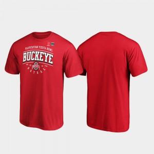 OSU T-Shirt Men Scarlet Tackle 2019 Fiesta Bowl Bound 981286-667