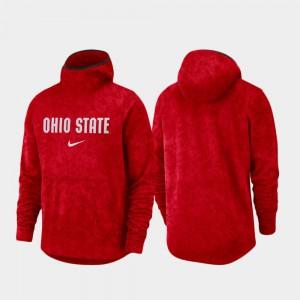 Basketball Team Logo Pullover Mens Spotlight OSU Hoodie Scarlet 974408-187