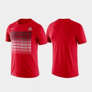 Scarlet Fade OSU T-Shirt Performance Mens 828945-450