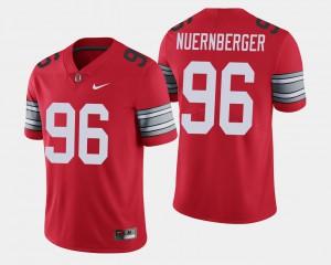 Sean Nuernberger OSU Jersey Scarlet 2018 Spring Game Limited #96 For Men's 778072-546
