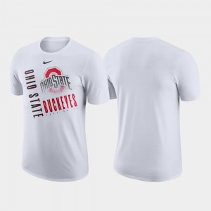 Performance Cotton Just Do It White OSU T-Shirt For Men 650138-630