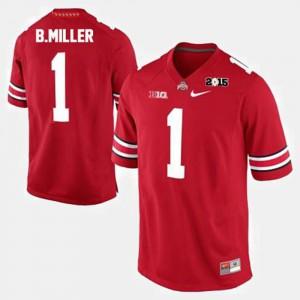 Mens Braxton Miller OSU Jersey Red #1 College Football 846260-582
