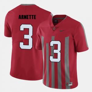 Damon Arnette OSU Jersey Men Red #3 College Football 191178-411
