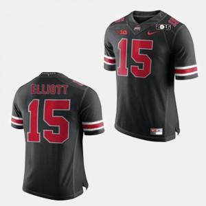 Black Men Ezekiel Elliott OSU Jersey #15 College Football 918199-990