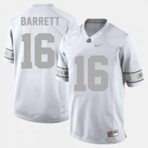 J.T. Barrett OSU Jersey White Men College Football #16 174905-780