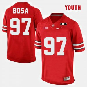 For Kids #97 Joey Bosa OSU Jersey College Football Red 388379-585