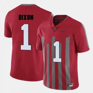 Men's College Football #1 Red Johnnie Dixon OSU Jersey 455388-898