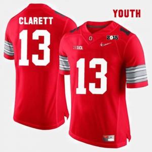 College Football Red Maurice Clarett OSU Jersey #13 For Kids 679995-957