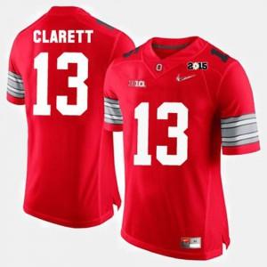 Maurice Clarett OSU Jersey Men Red College Football #13 542838-497