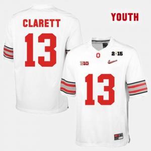 College Football #13 White Kids Maurice Clarett OSU Jersey 910717-197