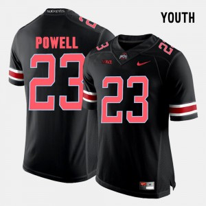 #23 Tyvis Powell OSU Jersey Black For Kids College Football 126833-442