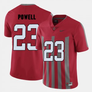 Red Tyvis Powell OSU Jersey College Football For Men's #23 384125-332