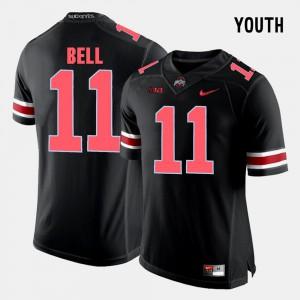 #11 Black College Football Youth Vonn Bell OSU Jersey 137844-988