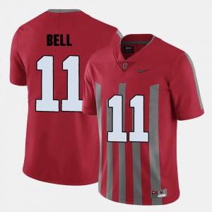 Vonn Bell OSU Jersey Red #11 College Football Men's 597872-968
